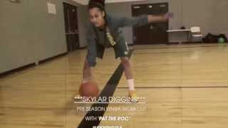 Skylar Diggins Pre-Draft Workout