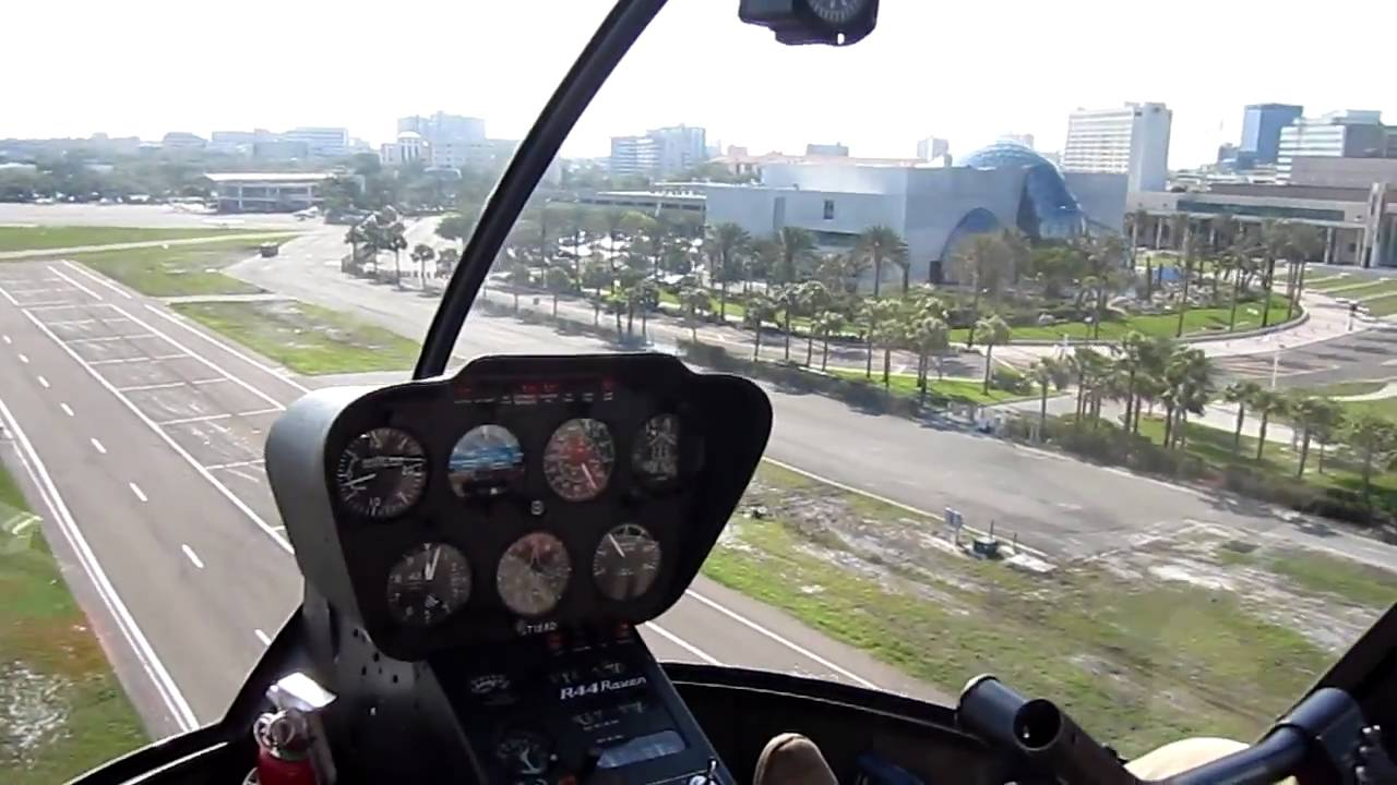 Inside Helicopter Flying Low And Landing 720p HD