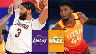 Check out the highlight from los angeles lakers' 116-108 win over utah jazz. a victory that saw double-double anthony davis (42 points and 12 ...