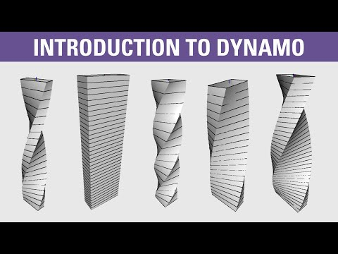 Introduction to Dynamo BIM - twisting tower tutorial