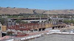 Washington Hospital Parking Garage Construction Time Lapse