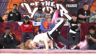 1/2 FINALE Battle Bgirls 2vs2 MONSTER BLASTER BOTY 2017 - B nice & Charline Vs Karla & Alyssa -