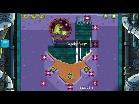 Where's My Water - How to Solve Bug on Level C3-5