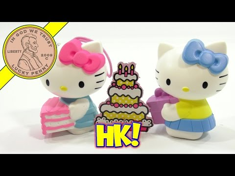 Hello Kitty 40th Anniversary 2014 McDonald's Happy Meal Toys