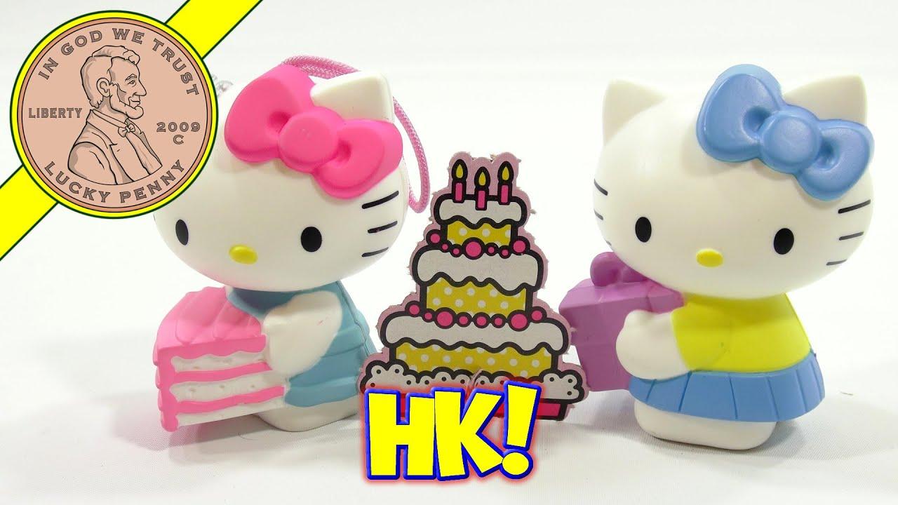 Hello Kitty Happy Meal Toys : Hello kitty th anniversary mcdonald s happy meal