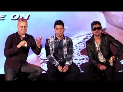 Grand launch of Yo Yo Honey Singh's music...