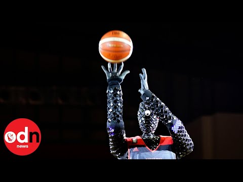 Can this basketball-playing robot beat the professionals?