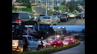 LIFE IN KIGALI: TRAFFIC NEST AROUND KIGALI CONVENTION CENTRE