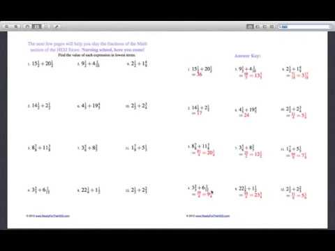 HESI A2 Math Practice Questions - Free HESI Practice Test - YouTube