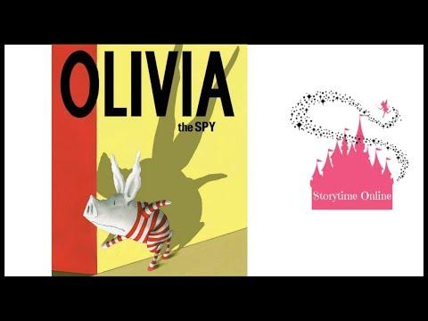 Olivia The Spy | Kids Books Read Aloud