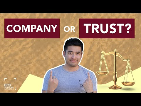 Choosing a Business Structure: Company vs. Trust (AU) | Box Tips