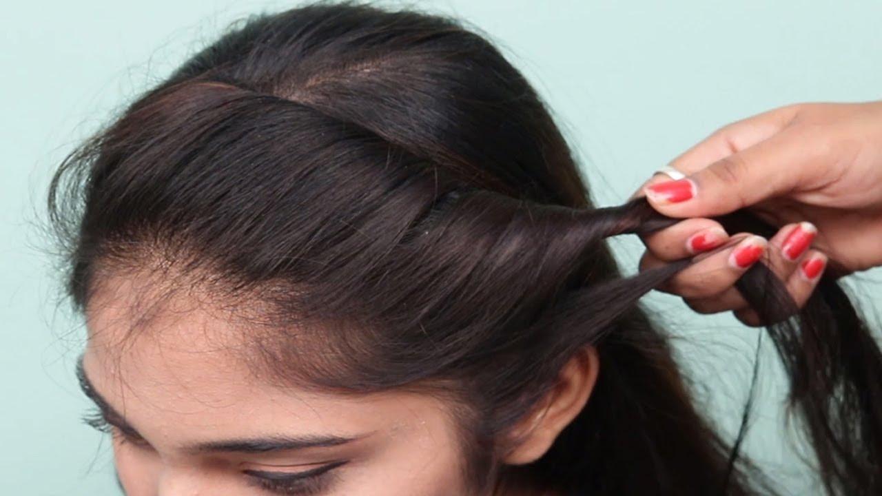 3 Easy Hairstyles For Short Hair: 3 Easy Hairstyles For Short Medium Hair