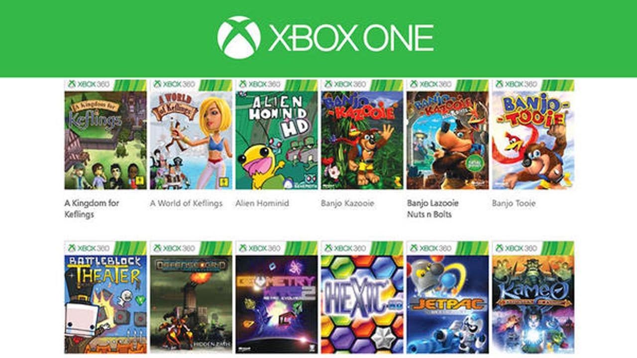 Retrocompatibilidad De Xbox 360 A Xbox One Lista De Juegos