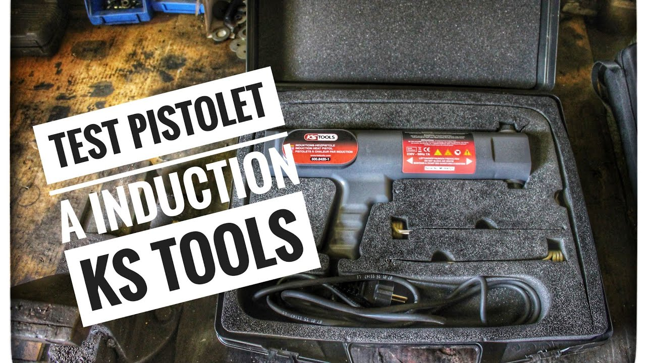 Test Outil 1 Pistolet A Induction Ks Tools Youtube
