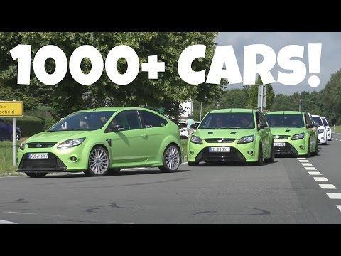 2016 Ford RST Treffen-AMAZING Sounds & Cars!
