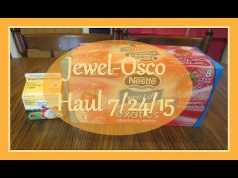 Jewel-Osco Grocery Coupon Haul 7/24/15 ~ Making Organic Butter