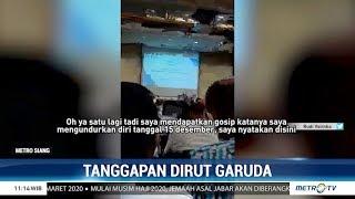Viral Video Diduga Ari Askhara Tak Mau Mundur dari Dirut Garuda