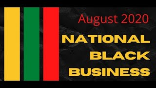 National Black Business Month | Newark Moonlight Cinema