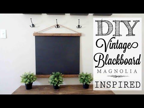DIY Magnolia Market Inspired Vintage Blackboard