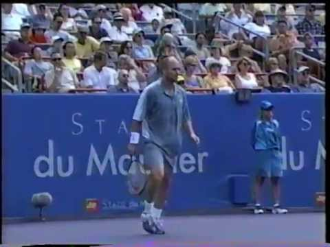 Lubicic vs Agassi Montreal 2001