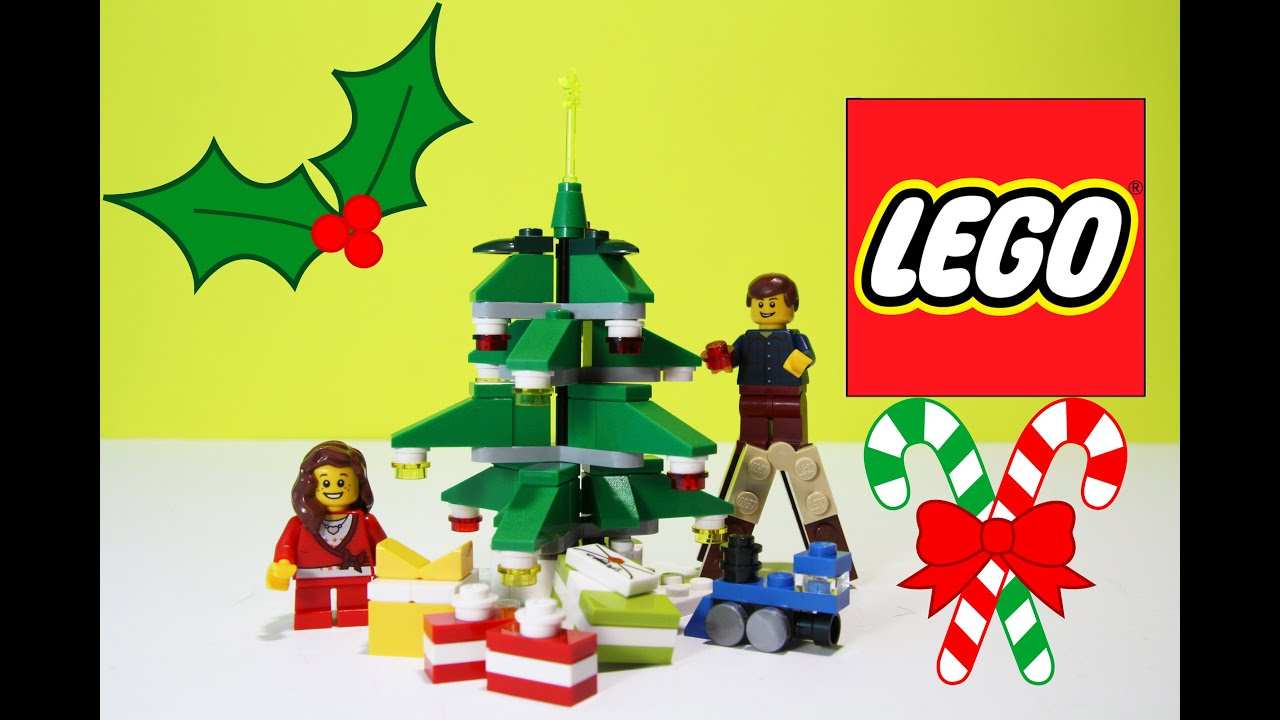 how to make a christmas tree out of legos
