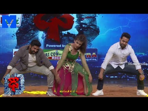 Jr NTR and Aqsa Khan Awesome Dance Performance Promo - DHEE 10 Grand Finale Promo - 18th July 2018