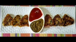 Palak Poha Cutlet Recipe/easy Evening Tea Time Snacks/tasty And Easy To Make