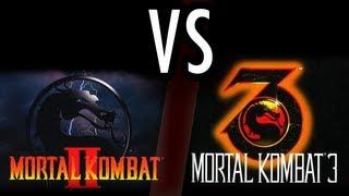 Mortal Kombat 2 VERSUS Mortal Kombat 3 Cual Es Superior