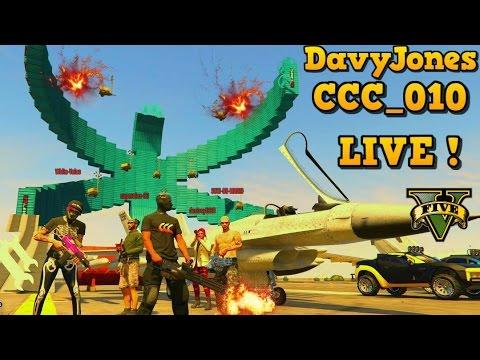 GTA 5 -- Live Stream w/ DavyJonesRJ & GCCC CREW Raceday Wednesday #54