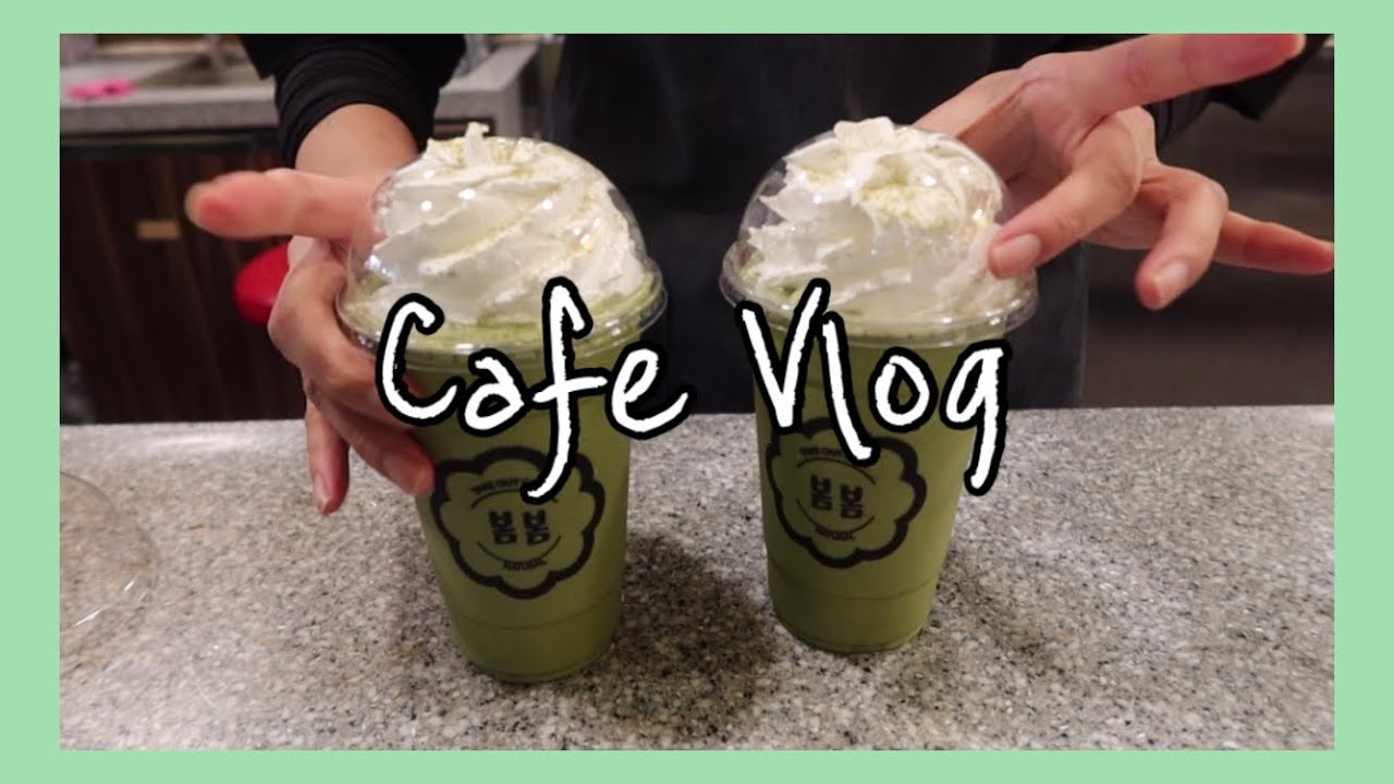 ENG) Cafe Vlog /카페브이로그/카페알바브이로그/카페봄봄