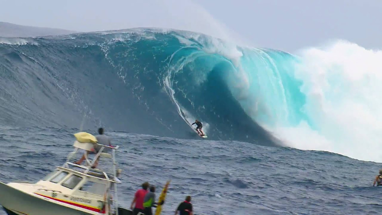 Epic Surf Session At Jaws  Red Bull Young Jaws  YouTube