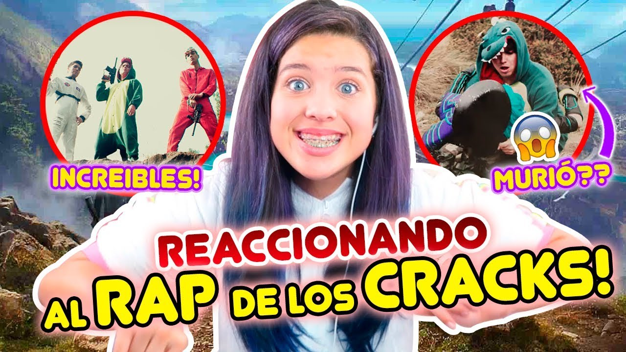 REACCIONANDO AL RAP DE FREE FIRE (LOS CRACKS)