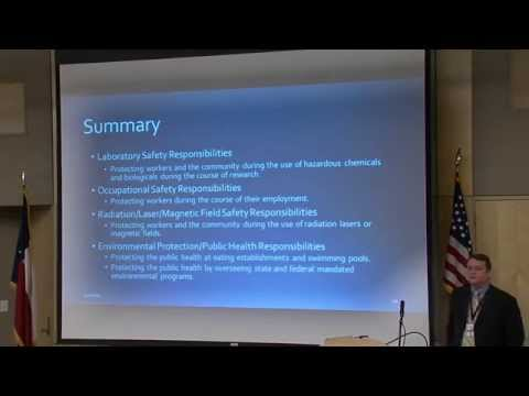 OVPR Discussion Series: Environmental Health & Safety