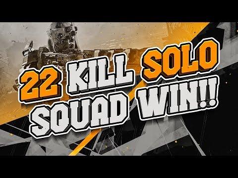 22 KILL SOLO SQUAD WIN!! (Call of Duty: Blackout)