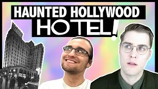 One of Garrett Watts's most viewed videos: STAYING IN A HAUNTED HOTEL! with DREW MONSON