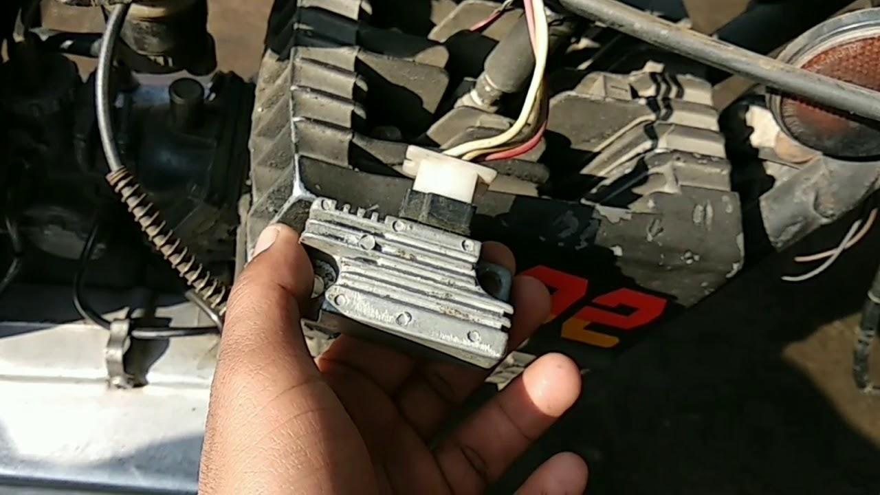Wiring Diagram Yamaha Rxz