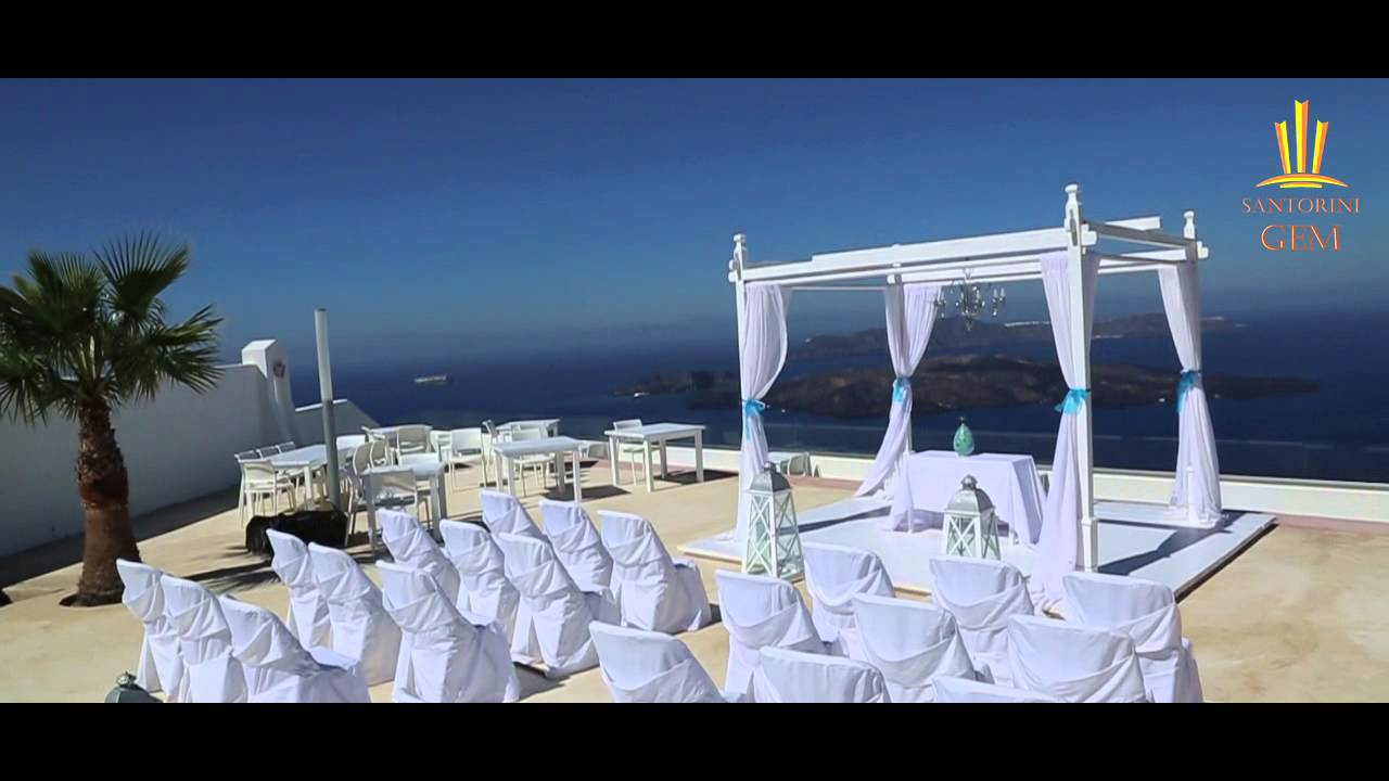 Santorini Gem Wedding Venue Caldera