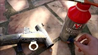 Restauration Dirt Bike Décapage chimique de la peinture Ep11 2