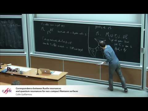 Colin Guillarmou:  Correspondence between Ruelle resonances and quantum resonances ...