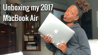 Unboxing my 2017 MacBook Air