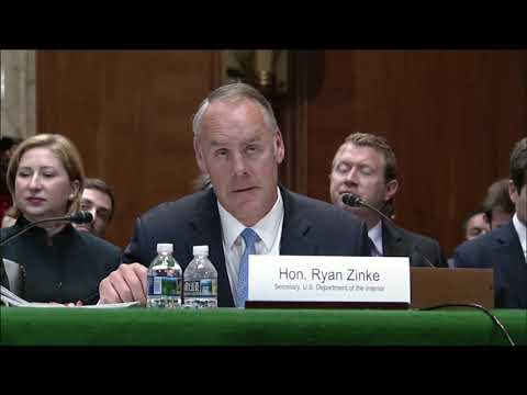 Murkowski Questions Secretary Zinke on Commitment to our Territories & Freely Associated States