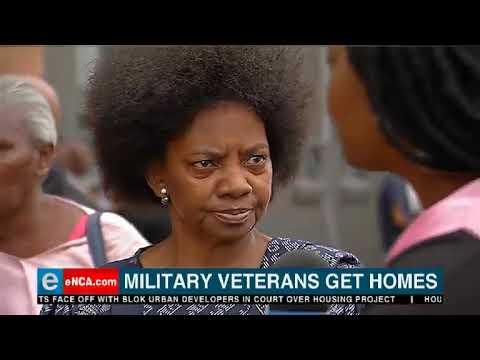 Military veterans get homes