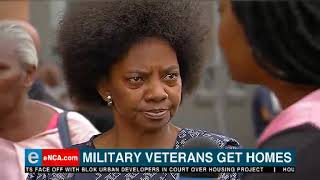 Military veterans get homes