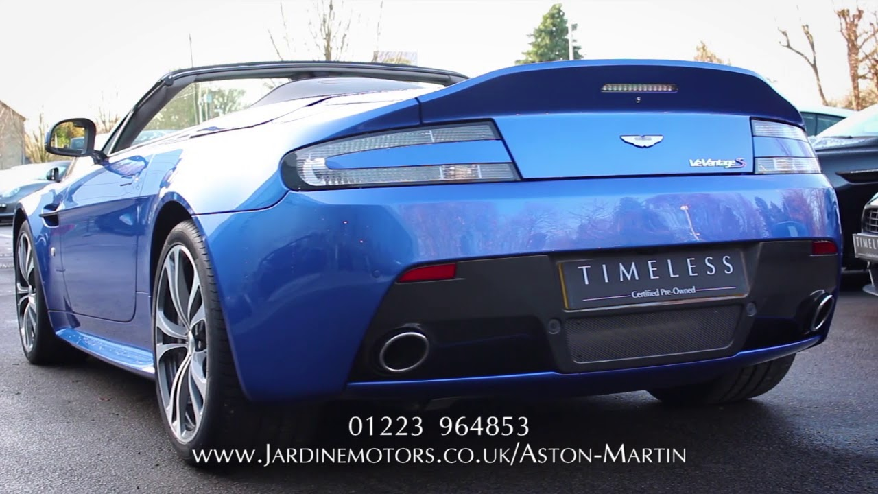 Jardine motors group aston martin v12 vantage s roadster for Jardine motors