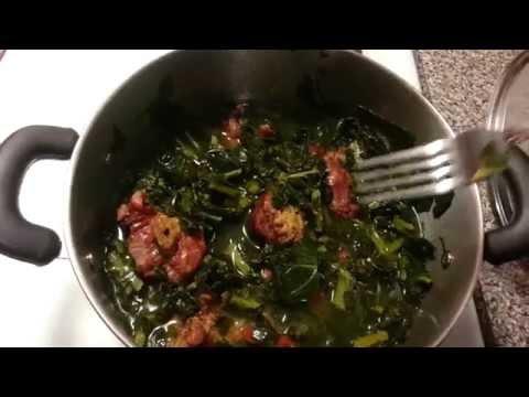 How I Cook My Collard Greens (EASY)