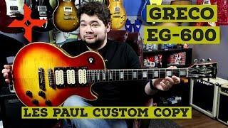 COOL GEAR: My 1978 Greco EG-600 Les Paul Custom Copy!