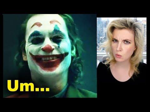 Joker Movie 2019 Makeup Test