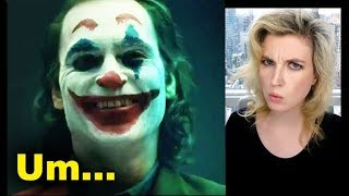 Joker Movie 2019 Makeup Test