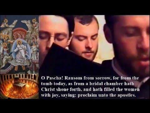 A 'Chàisg Crìosdail ceòl ✞ orthodox