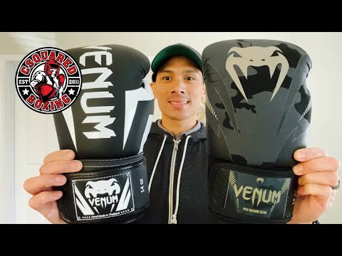 Venum Elite VS Venum Impact Boxing Gloves- COMPARISON REVIEW